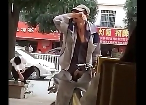 A chinese man'_s hard on in skit of coffee shop - Bluedboy.blogspot.com