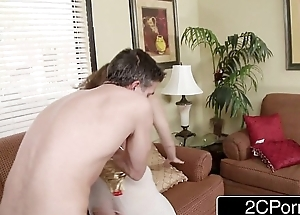 Cheating Wife Alex Chance Gives Her Anal Virginity to Husband'_s Mould Friend
