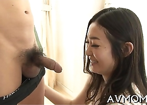 Hung tit mother i would in the mood for to fuck rides cock