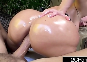 Notorious Big Booty Blonde Bimbo Alena Croft Tries Anal for get under one's First Majority
