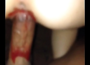 fucking on her period