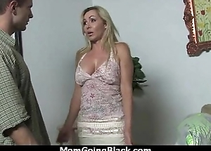Senior Women Gets Big Black Cock in Interracial Video 9