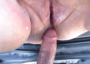 Hot Pregnant Mom Acquires Fuck In Motor &amp_ Creampie Inside