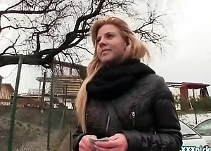 Public Blowjob From Sexy Czech Amateur Teen Be useful to Crown 10