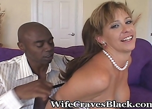 Shared Wifey Riding A Expansive Cock