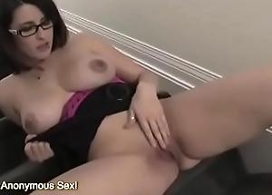 Busty MILF Fucks Herself Silly