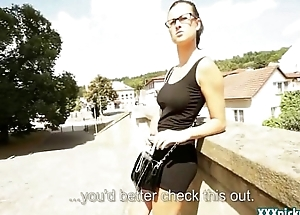 Public Sex With Czech Teen Amateur In The Street For Cash 23