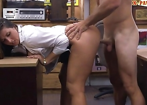 Big gluteus maximus amateur railed to the fore pawnshop