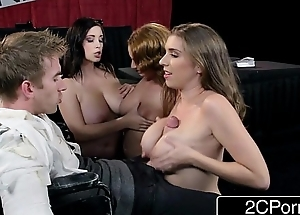 Sloppy Titty T-Shirt Telethon - Ashley Graham, Alex Chance &amp_ Noelle Easton