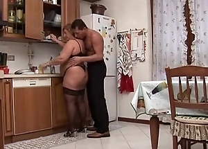 Chubby Granny Loves Making love