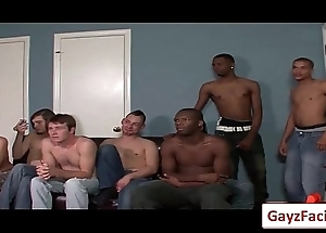 Bukkake Boys - Unconcerned Hardcore Sex from www.GayzFacial.com 15