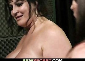 That guy fucks BBW obstruction his fit together finds out