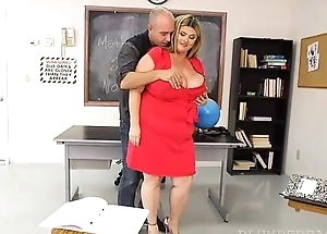 Busty BBW MILF Gets Caught Cheating and has to Pay