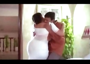 Hot Aunty  plus Servente Romantic Scenes    Tamil hot oomph scene