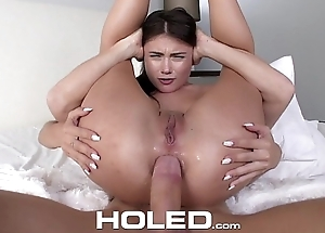 HOLED - Step-brother pounds student Adria Rae'_s asshole