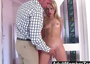 AdultMemberZone - Sweet Russian Cutie Sasha Rose Gets Her Face Fucked